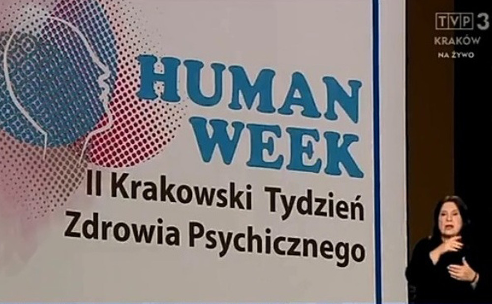 """""""Human week"""" w Krakowie. Zadbaj o zdrowie psychiczne"""